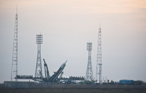 Nga chuẩn bị phóng tàu Soyuz