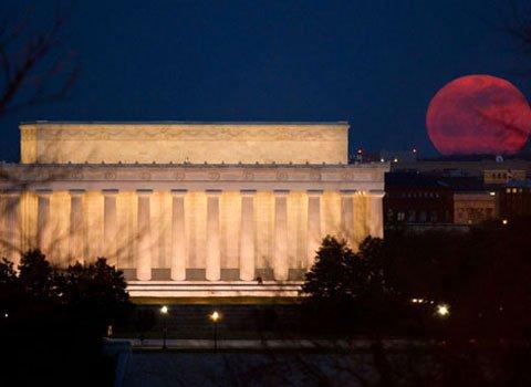Ngắm siêu trăng vào chủ nhật