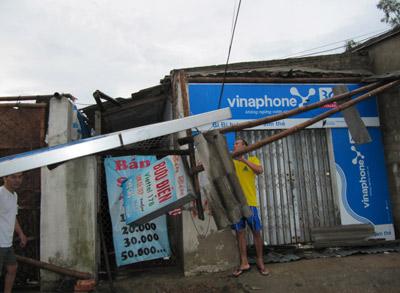 Nghệ An: Bão số 3 gây thiệt hại lớn