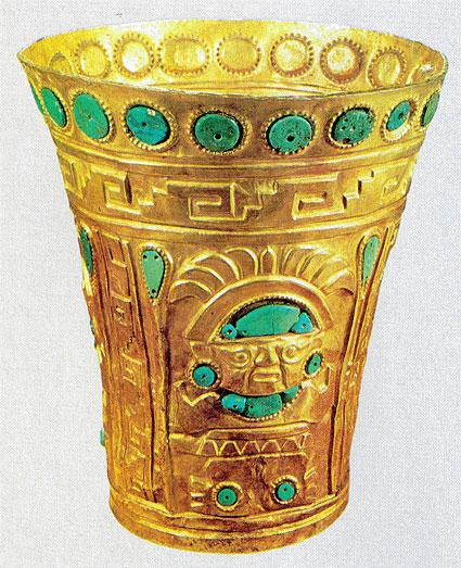 Người Inca xem vàng là mồ hôi của Thần Mặt trời