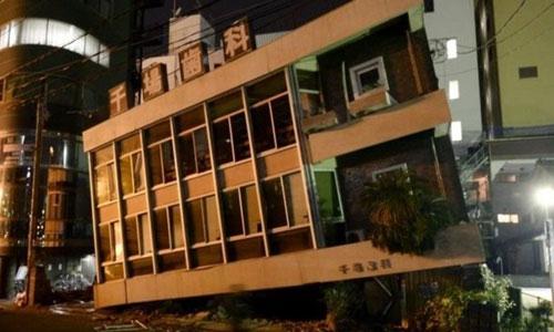 Nhật Bản lại rung chuyển bởi trận động đất thứ hai