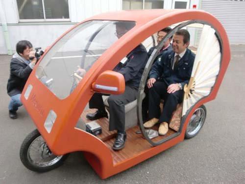 Nhật sản xuất xe lôi chạy điện