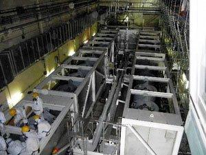 Nhật: Tắc thiết bị xử lý nước nhiễm xạ nồng độ cao