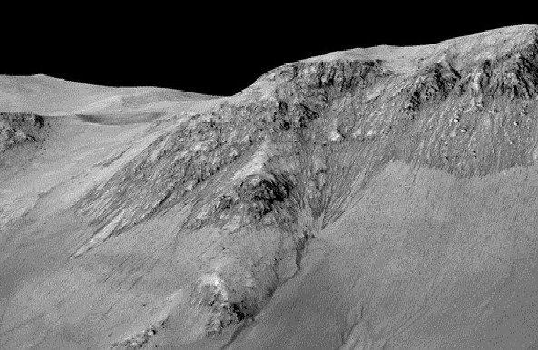 Những bức ảnh chứng minh có nước chảy trên sao Hỏa