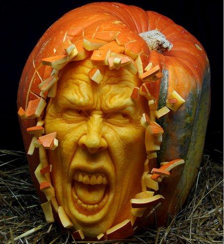 Những bức điêu khắc lấy cảm hứng từ Halloween