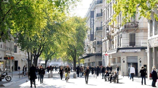 Những con phố đi bộ đẹp nhất trên thế giới