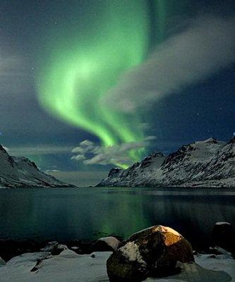 Những hình ảnh đầu tiên về bão từ ở Bắc Cực