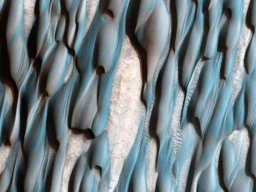 Những hình ảnh kỳ thú về bề mặt sao Hỏa