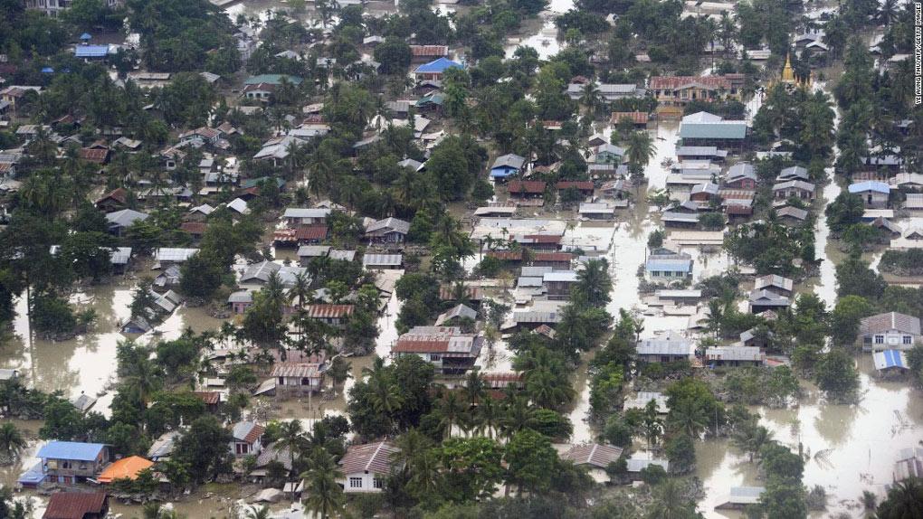 Những thảm họa thiên nhiên tồi tệ nhất 2015