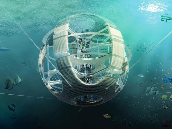 Những tòa nhà nổi lênh đênh của tương lai