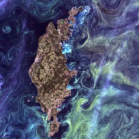 Những tuyệt tác hội họa mang tên Trái đất