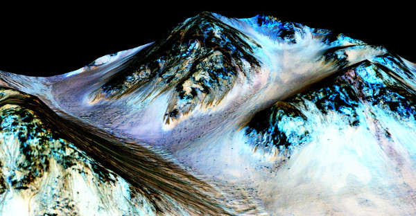 Nước chảy trên sao Hỏa - phát hiện làm thay đổi nhận thức vũ trụ