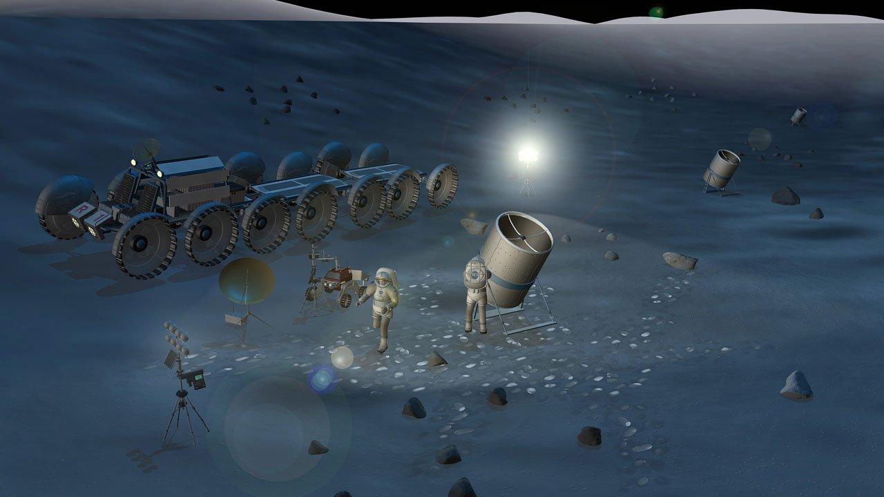 Nước trên Mặt trăng làm sai lệch kính viễn vọng