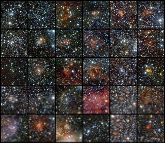 Phát hiện 96 chùm sao trong dải Ngân Hà