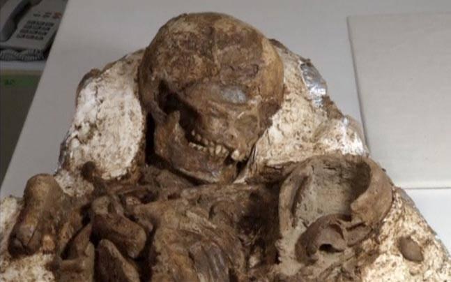 Phát hiện hóa thạch mẹ và bé 4.800 năm ở Đài Loan