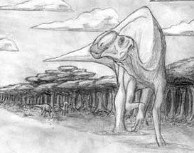 Phát hiện khủng long có mũi khủng