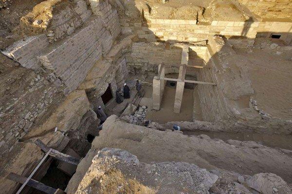 Phát hiện lạ kỳ ở mộ công chúa Ai Cập
