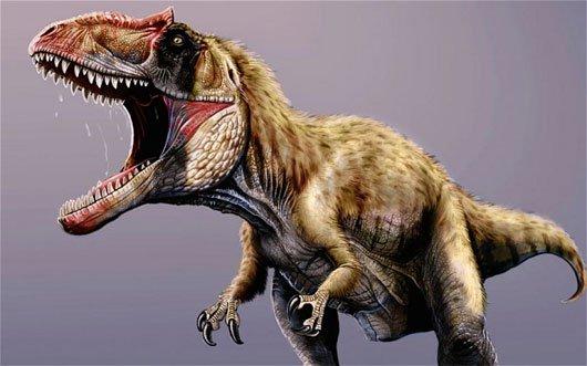 Phát hiện loài khủng long bạo chúa siêu lớn