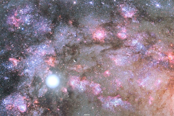 Phát hiện sự ra đời của thiên hà cổ xưa