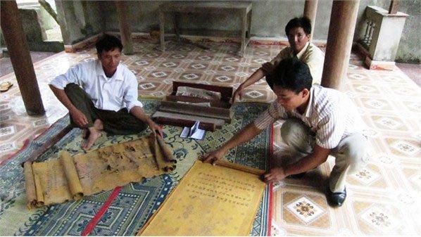 Phát hiện văn tự cổ thời nhà Nguyễn
