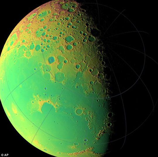 Phía tối của Mặt trăng dần 'lộ diện'