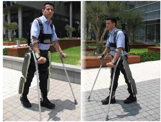Quần giúp người liệt có thể đi lại