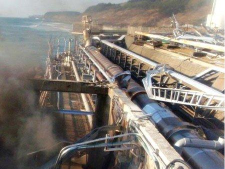 Rò hơn chục tấn nước phóng xạ ở Nhật