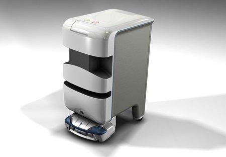 Robot đưa thuốc trong bệnh viện