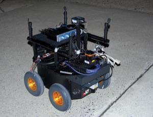 Robot gián điệp có khả năng trốn người