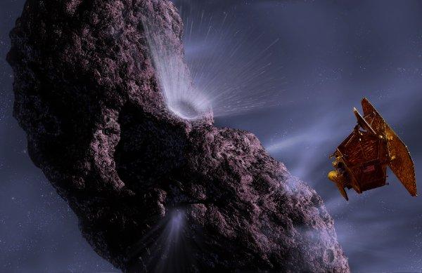 Sao chổi chạm trán Trái đất