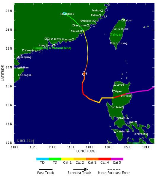 Siêu bão cực mạnh đã 'tránh' Việt Nam