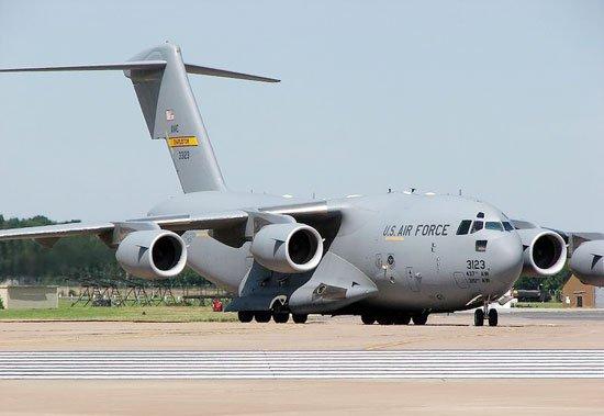 Siêu phi cơ vận tải dùng thử xăng sinh học