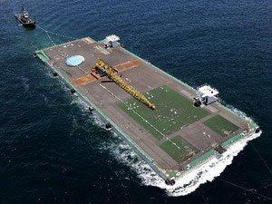 Siêu xà lan đến cứu Nhà máy Điện hạt nhân Fukushima số 1