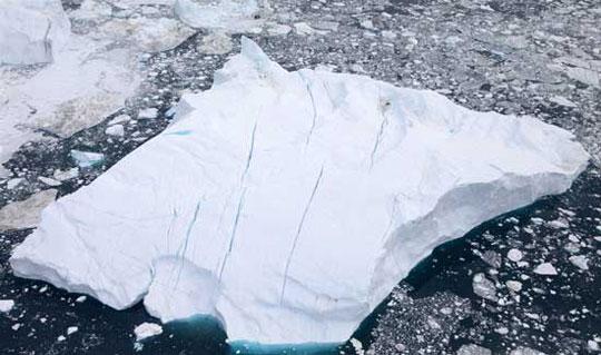 Sông băng khóc