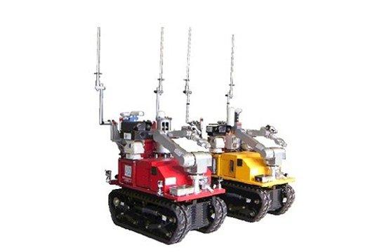 Sử dụng robot để phát hiện phóng xạ ở Fukushima