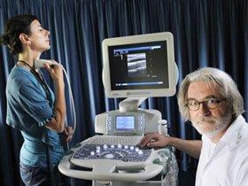 Sử dụng sóng siêu âm để đo huyết áp
