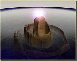 Sự sống trên trái đất phát triển nhờ va chạm với thiên thạch