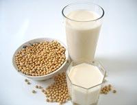 Sữa đậu nành ngăn ngừa béo bụng