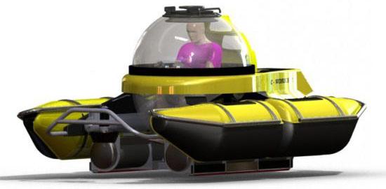Tàu ngầm chạy bằng pin