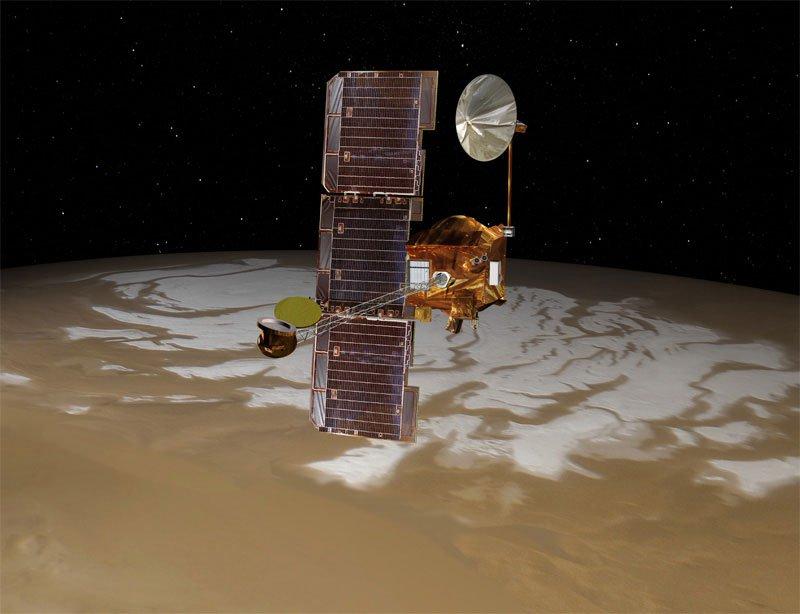 Tàu thám hiểm sao Hỏa gặp sự cố