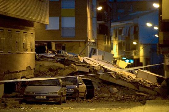 Tây Ban Nha: Động đất liên tiếp, ít nhất 10 người chết
