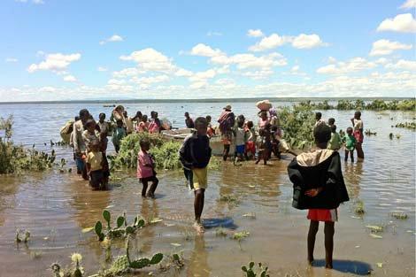 Thiên tai gây hậu quả nghiêm trọng tại châu Phi