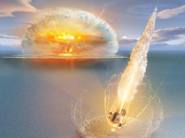 Thiên thạch rơi đồng thời tạo hố kép khổng lồ ở Thụy Điển
