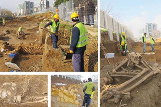 Thổ Nhĩ Kỳ phát hiện xương người niên đại 8.500 năm