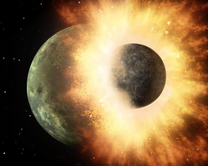 Tin được không, đã từng có tới 2 Trái đất trong hệ Mặt trời