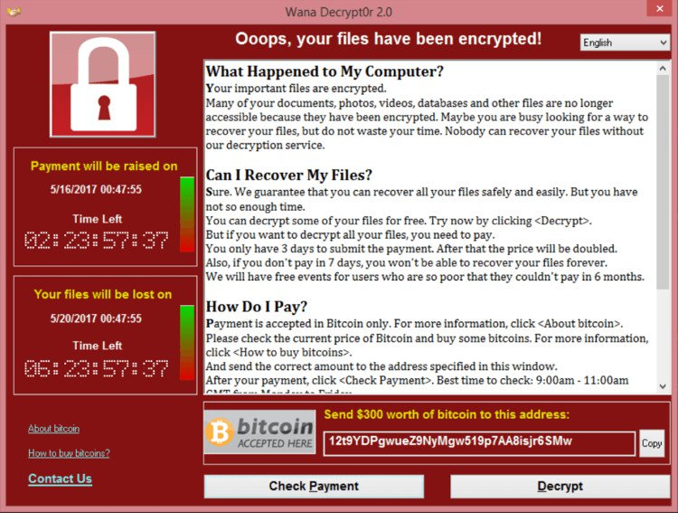 Tổng quan về virus Wannacry - Mã độc nguy hiểm nhất thế giới