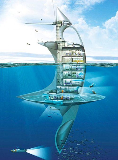 Trạm vũ trụ trong lòng đại dương
