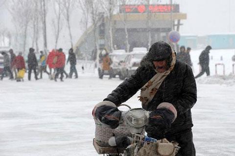 Trung Quốc chống chọi bão tuyết