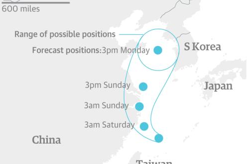 Trung Quốc sơ tán hàng chục nghìn người tránh siêu bão
