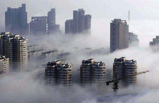 Trung Quốc sương mù dày đặc, Iran ô nhiễm nặng